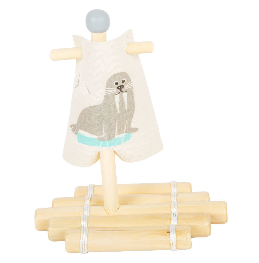 Small Foot Water Toy Raft Walrus