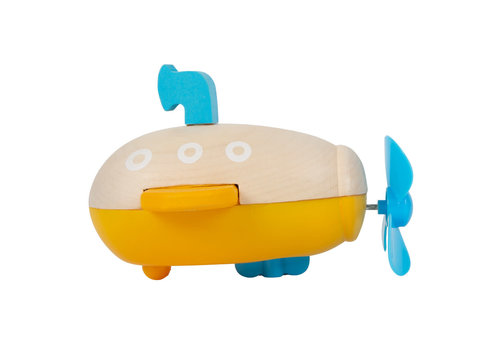 Small Foot Water Toy Wind-Up Submarine