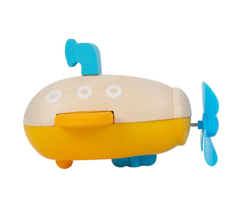 Water Toy Wind-Up Submarine
