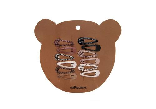 vanPauline Hairclips Bear 3cm