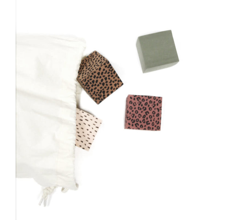 Foam Blocks + Storage Bag