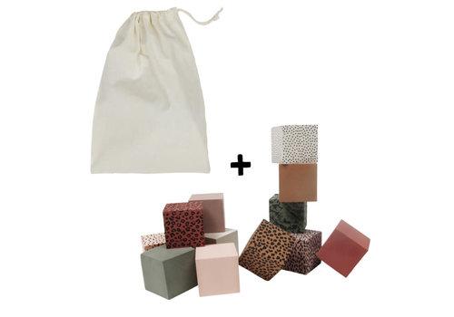 vanPauline Foam Blocks + Storage Bag