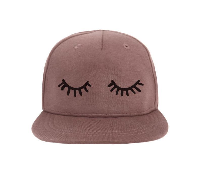 Cap Sleepy Eyes - Dark Pink