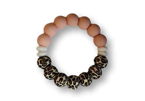 Chewies & More Duo Cool Chewie - Leopard - Rose - White