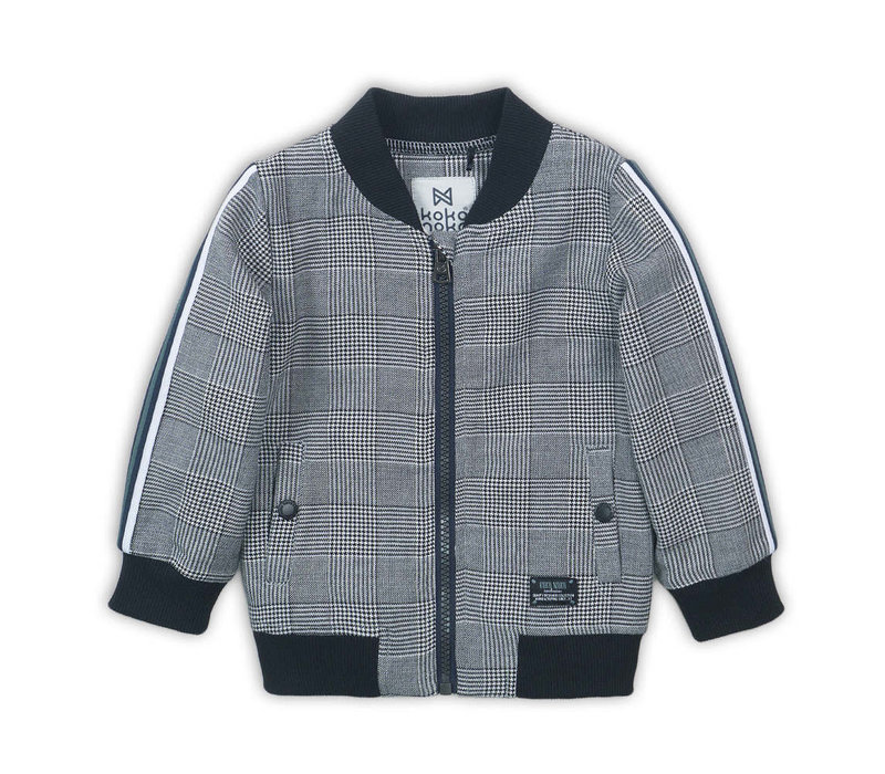 Cardigan Black check