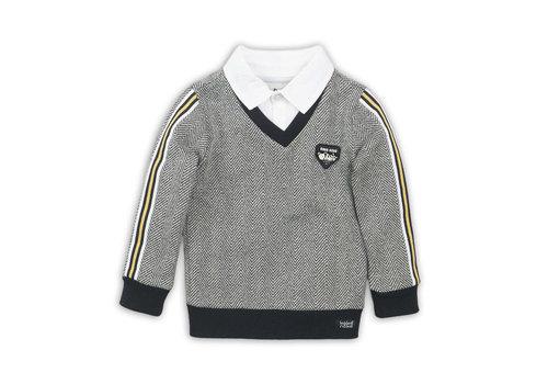 Koko Noko Sweater Black + white