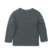 T-shirt ls Dark green