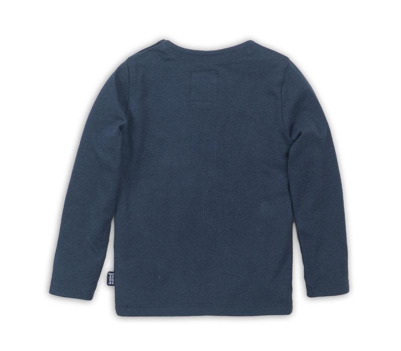 T-shirt ls Navy   