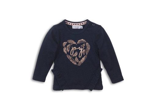 Dirkje Baby T-shirt ls Navy