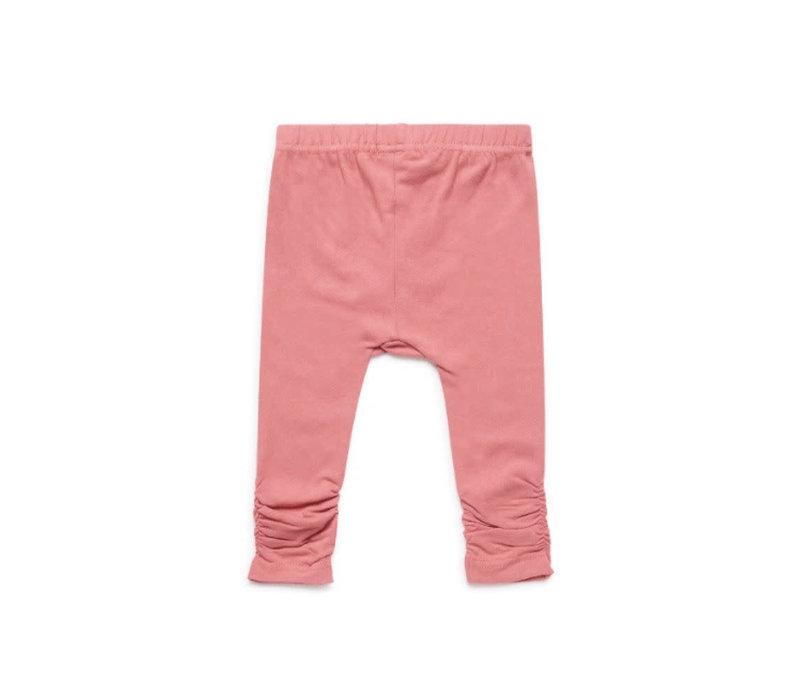Baby legging  Dark old pink