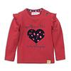 Dirkje Baby t-shirt ls Red