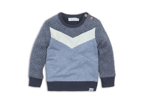 Dirkje Baby sweater Blue melee