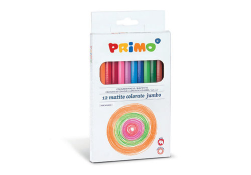 Primo 12 Jumbo kleurpotlood ø5.5mm in doos