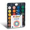 Primo Aquarelverf tablet/penseel ø30mm (24 kleuren)