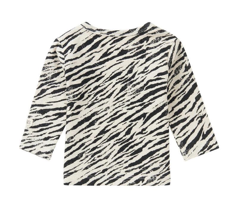 U T-Shirt LS Macon AOP