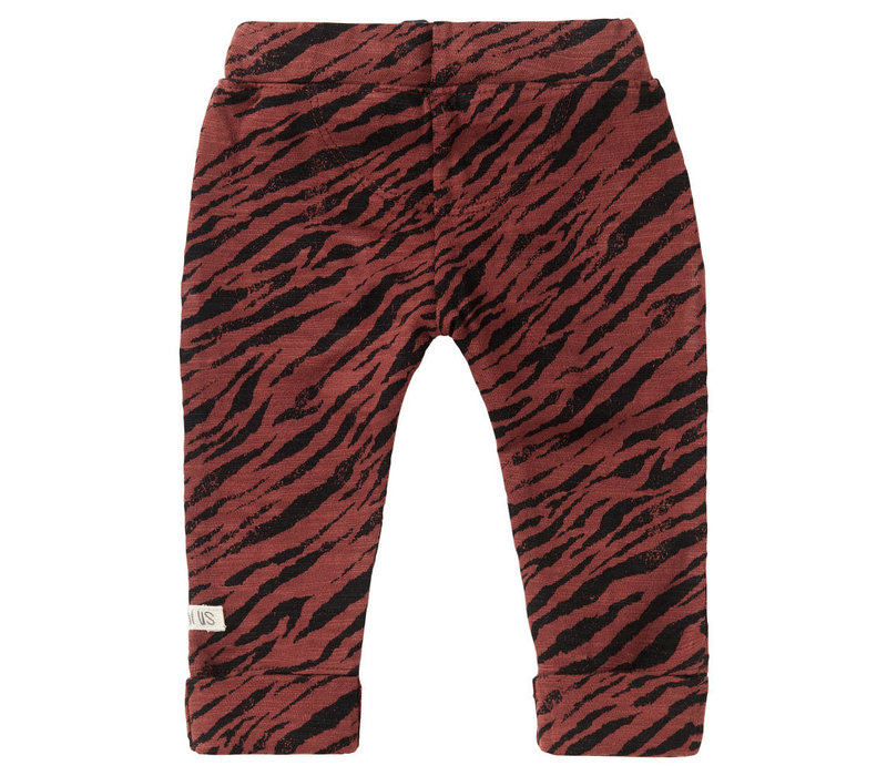 U Slim fit Pants Manteca AOP