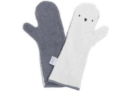 Invented 4 Kids Baby Shower Glove -  Mix Grijs