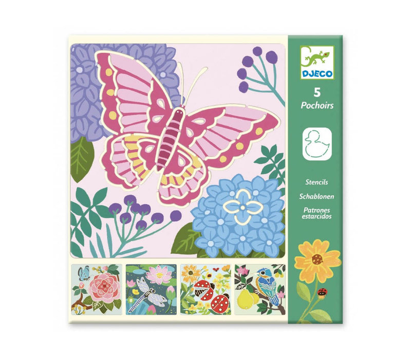 Pochoirs - Garden Wings