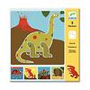Djeco Pochoirs - Dinosaurs