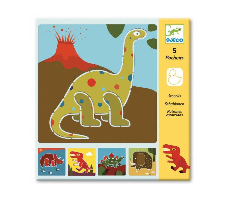 Pochoirs - Dinosaurs