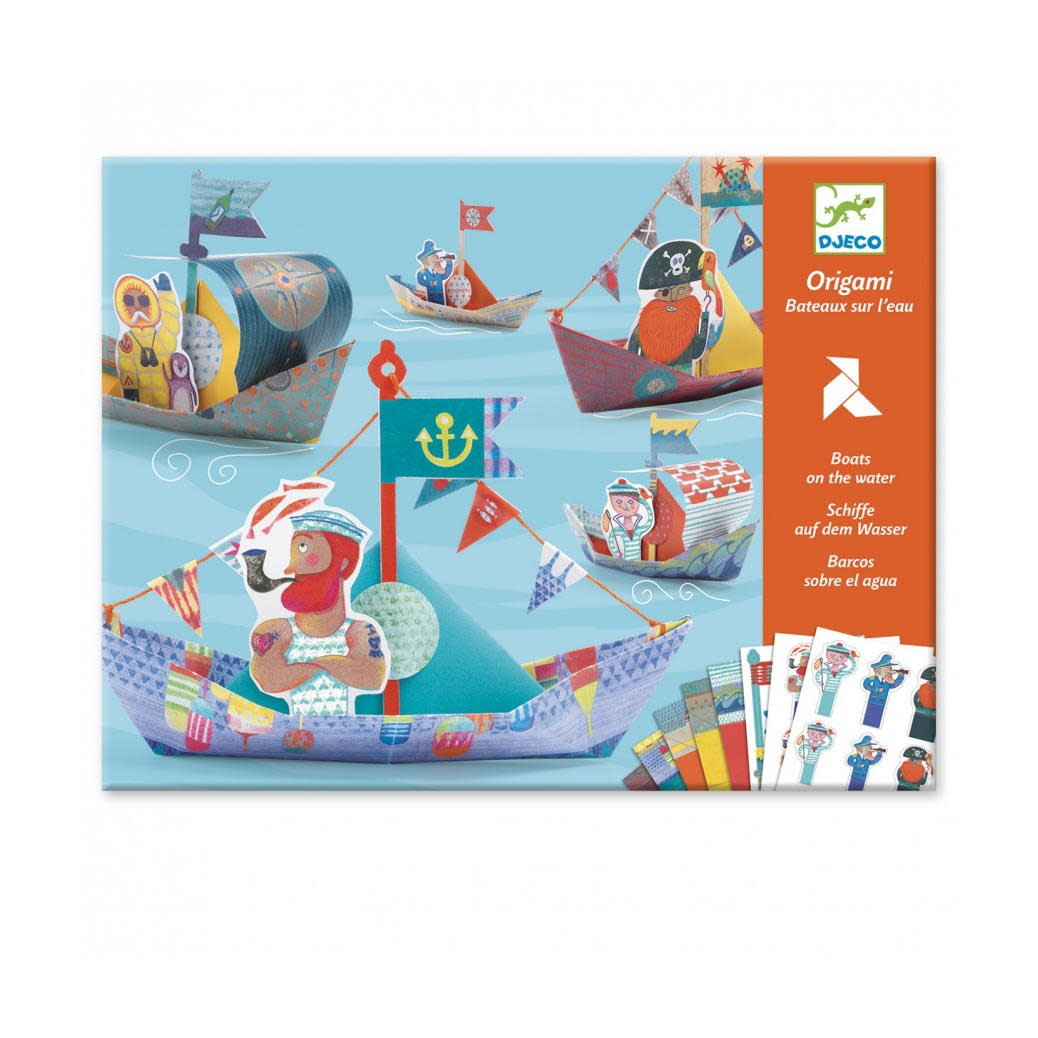 Djeco Origami - Boten