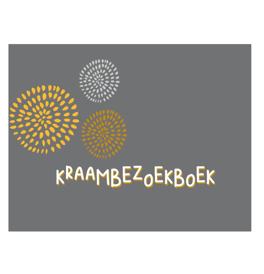 JeP! agenturen Kraambezoekboek - Antraciet