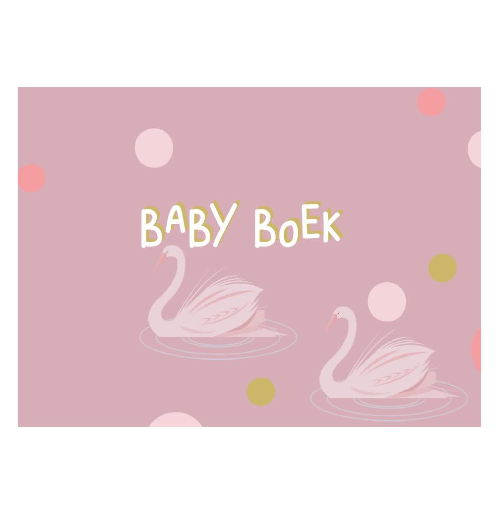 JeP! agenturen Babyboek - Plumroze