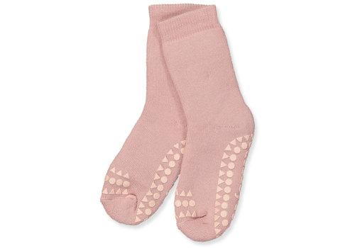 GoBabyGo Socks Anti-slip - Dusty rose