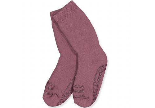 GoBabyGo Socks Anti-slip - Misty Plum