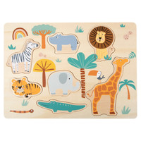 Puzzel Safari - Dieren