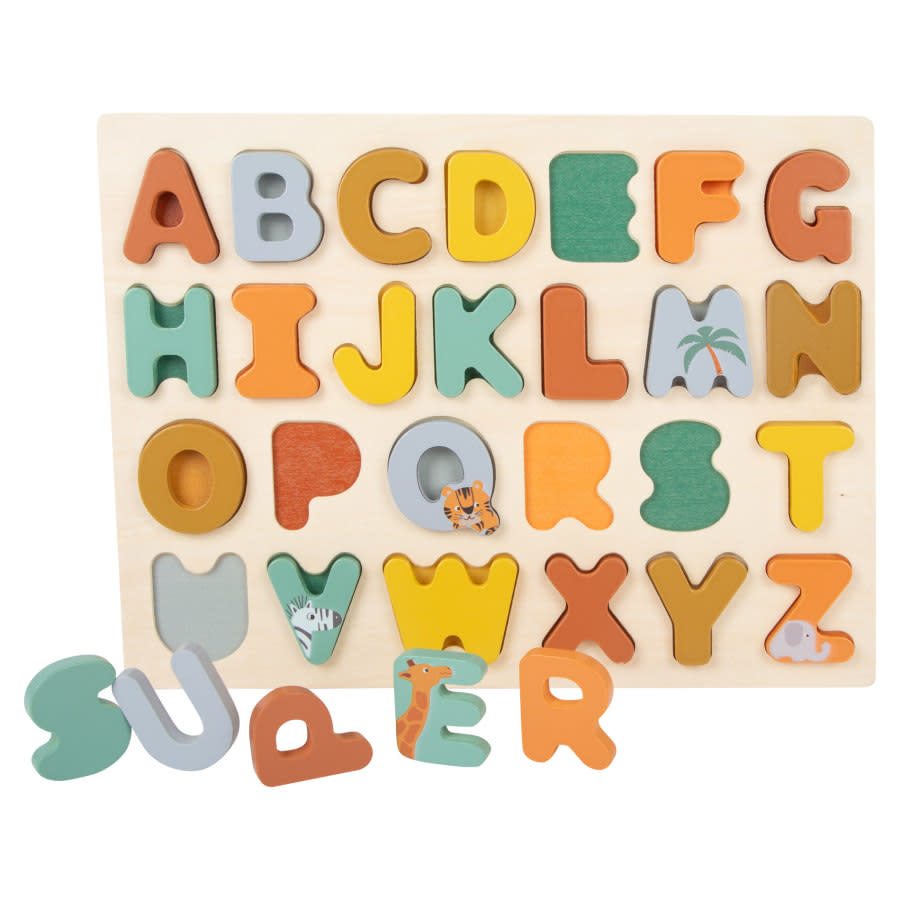 Small Foot Puzzel Safari - Letters
