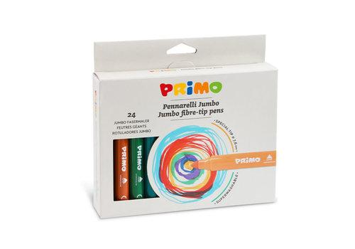 Primo 24 Jumbo viltstiften (fiber punt) ø7.6mm in doos