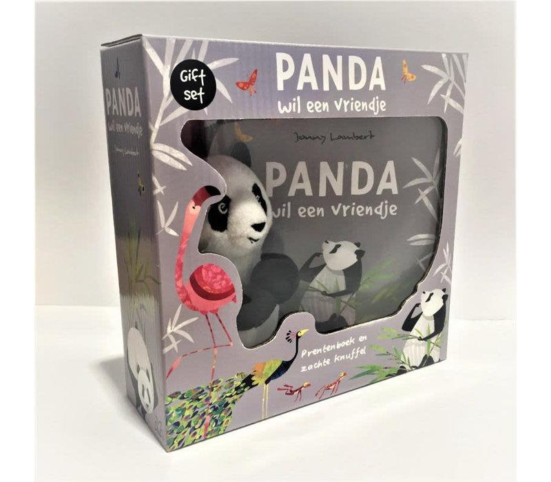 Panda wil een vriendje - Giftset