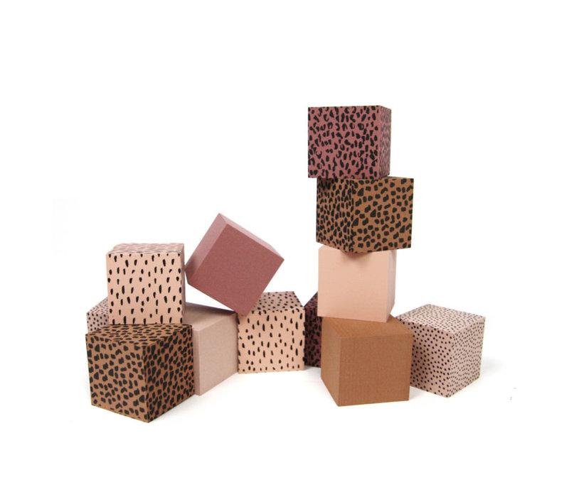 Foam Blokken Roze + Bewaarzak