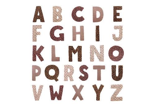 vanPauline Bad Letters - Roze