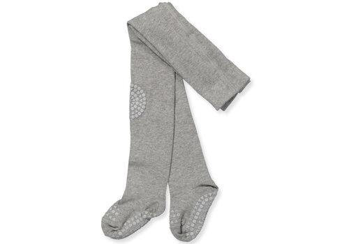 GoBabyGo Tights Anti-slip - Grey melange