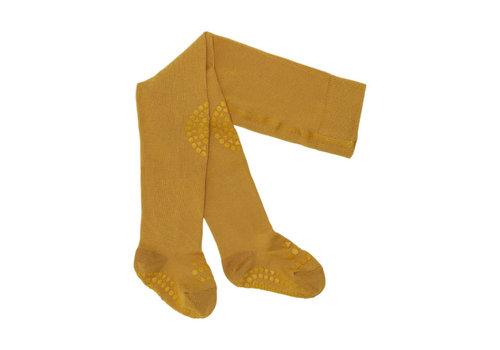 GoBabyGo Tights Anti-slip - Mustard
