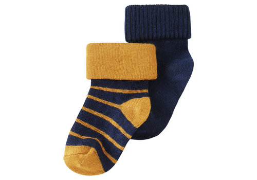 Noppies B Socks 2 pack Kareedouw