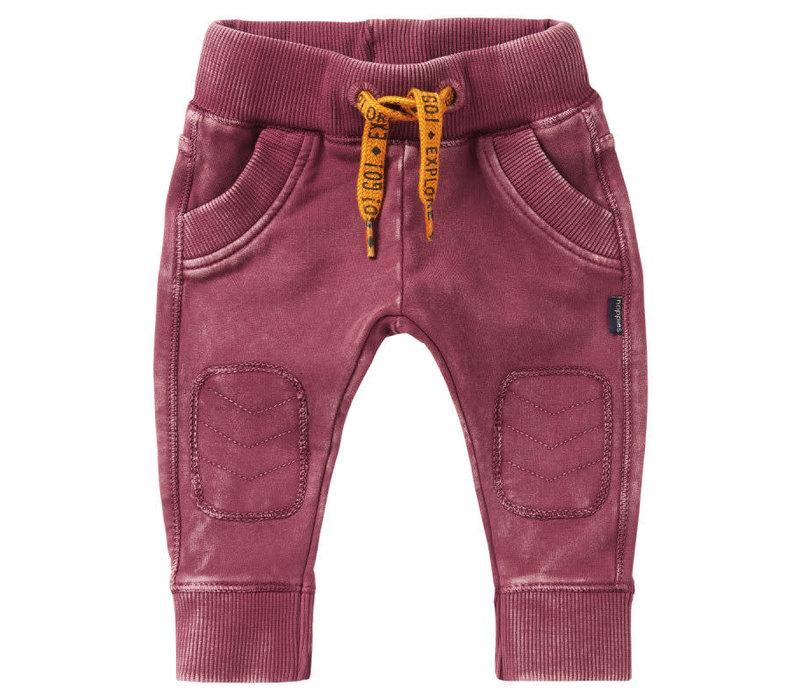 B Slim fit Pants Vredenburg Dusty Red