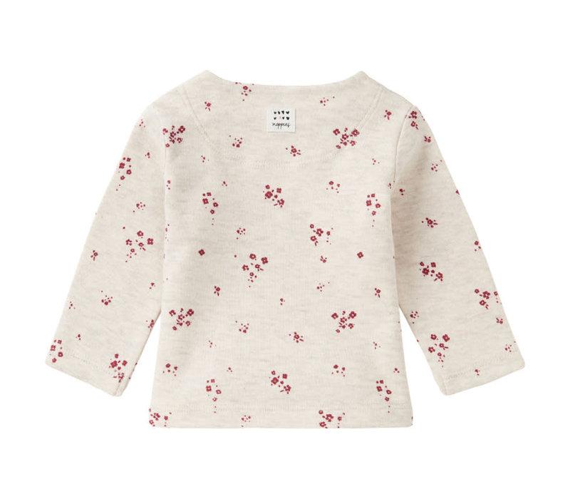 G Regular T-Shirt LS Mankato AOP