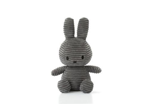 Nijntje Miffy Corduroy  Dark Grey  - 24 cm