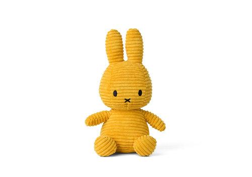 Nijntje Miffy Corduroy Yellow - 23 cm