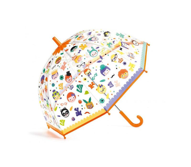 Paraplu - Gezichtjes