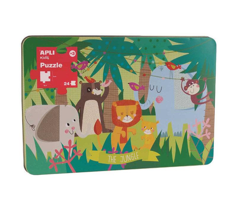 Jungle puzzel 24-delig