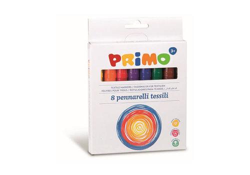 Primo 8 Textiel viltstiften ø4.1mm in doos