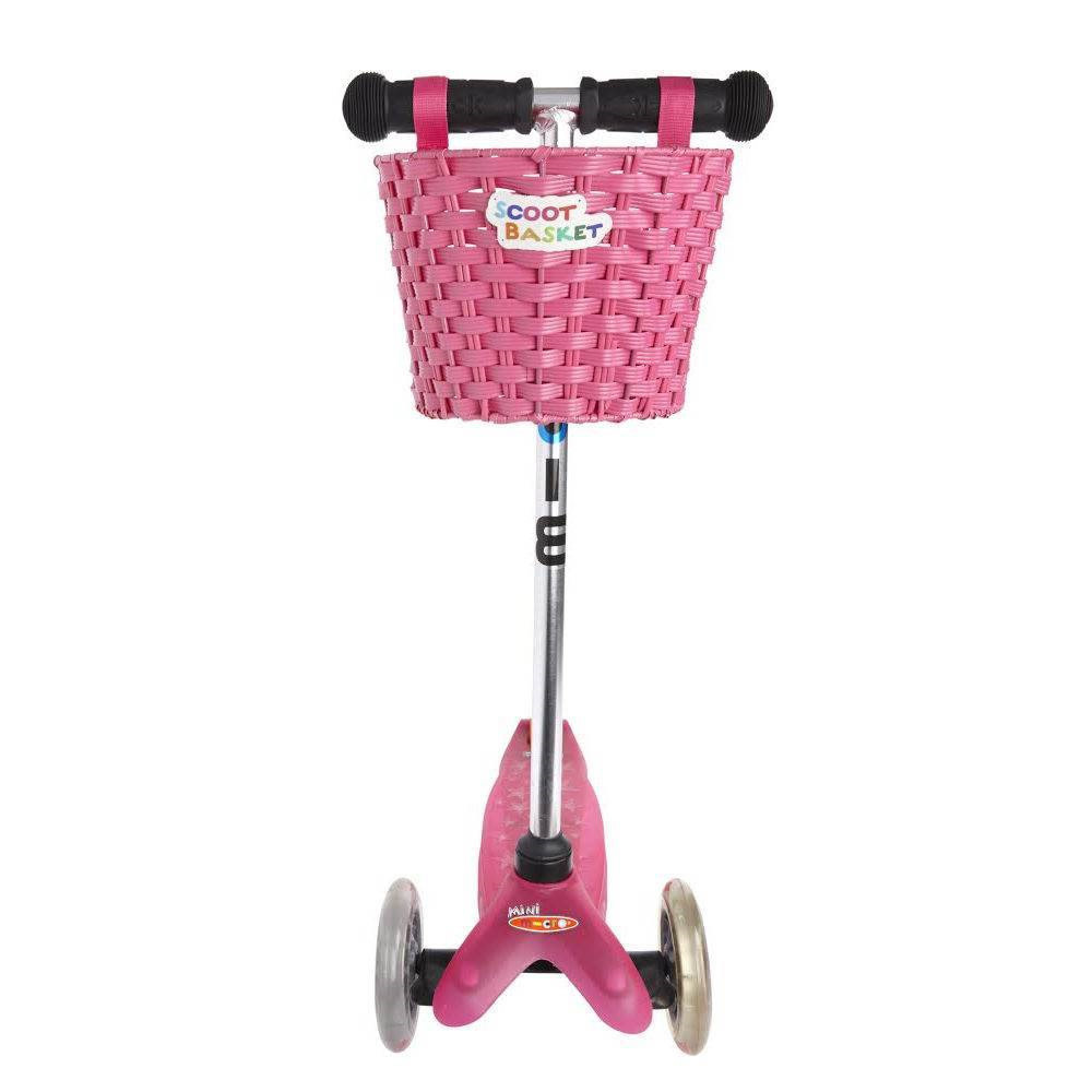 Micro Step Stepmandje roze