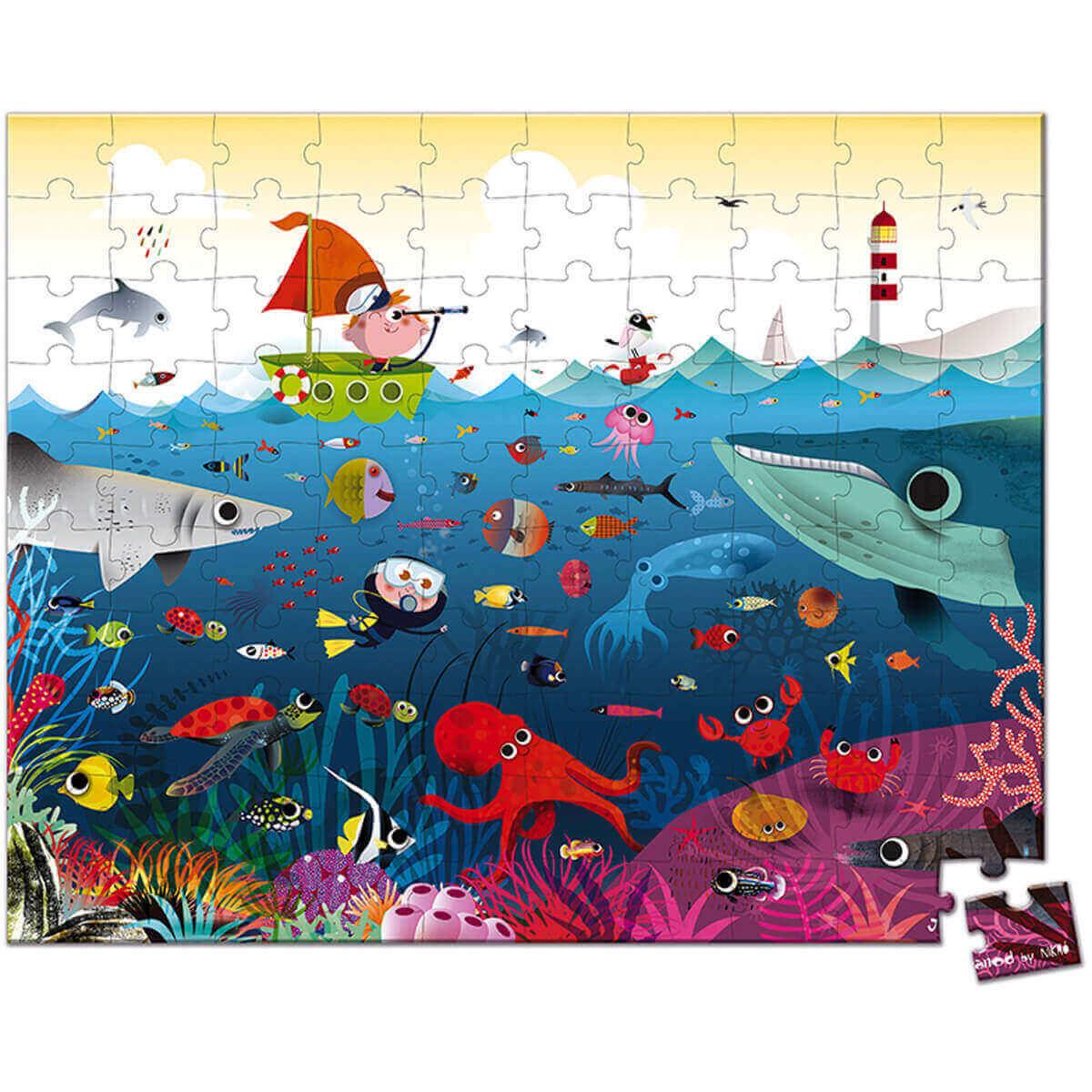Janod Puzzel - Onderwaterwereld