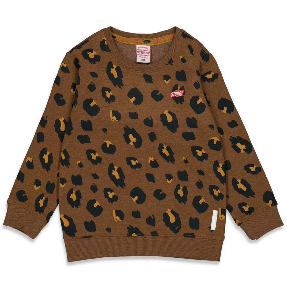 Sturdy Sweater AOP - On A Roll - Bruin 71600445