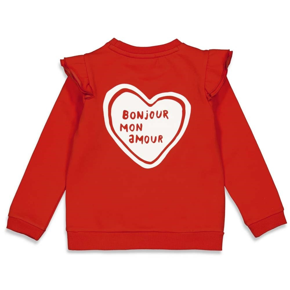 Jubel Sweater - Club Amour - Rood 91600291