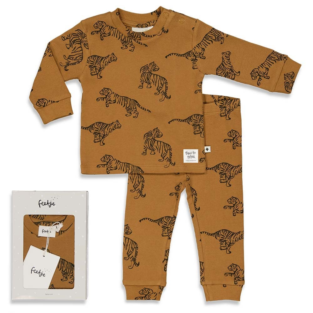 Feetje Tiger Terry - Premium Sleepwear by FEETJE - 505.00054